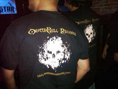 Outta Hell Records Live @Onyx Nightclub T-Shirt Photo