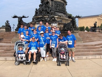 Golla Gang At The 2010 Prostate Cancer Walk T-Shirt Photo