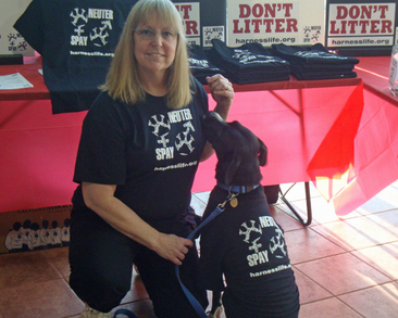 "Lola (Pup) Says ""Be Part Of The Solution: Spay & Neuter!"" T-Shirt Photo"
