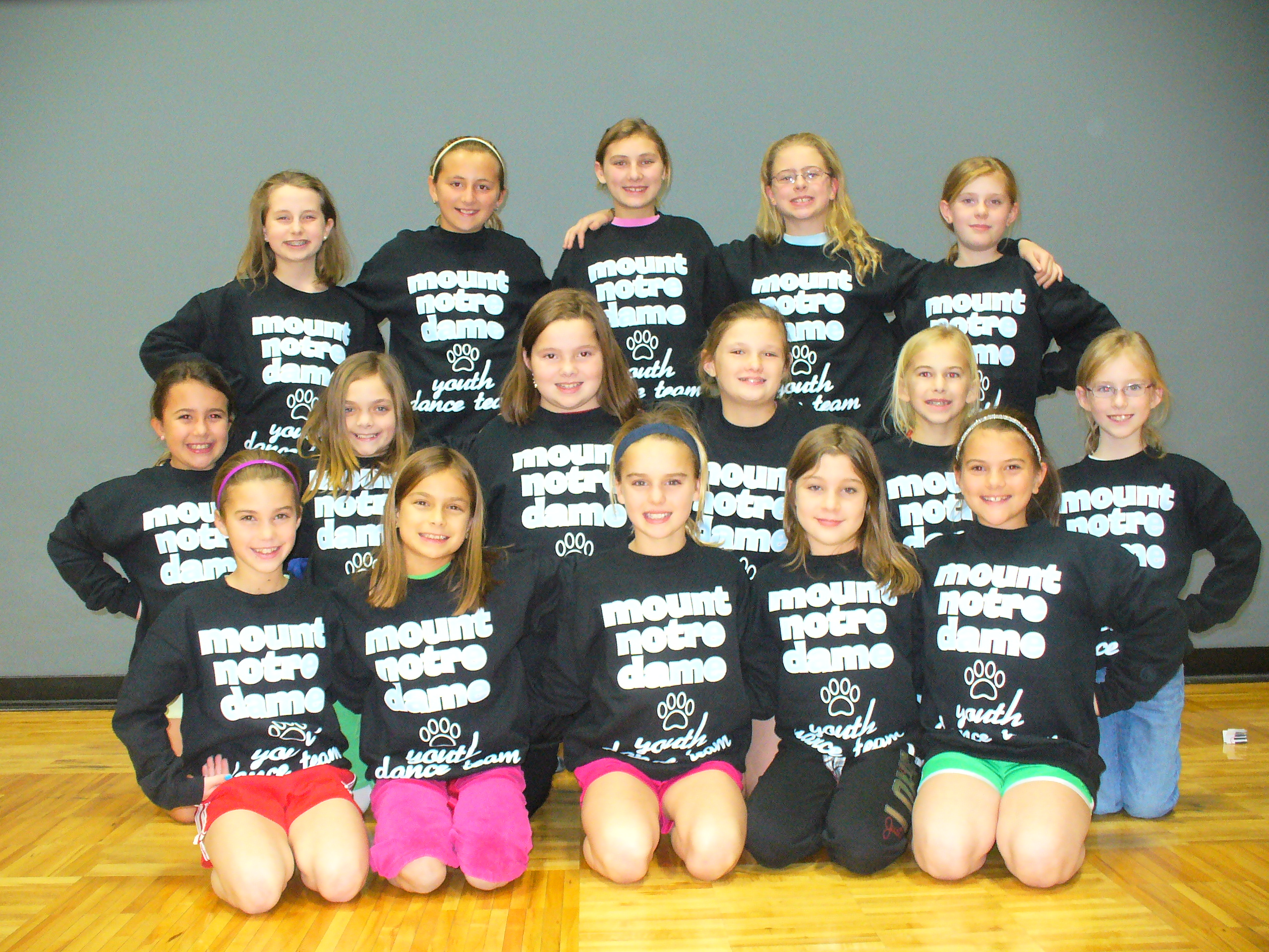 T shirt design youth - Mnd Cougars Youth Dance Team T Shirt Photo
