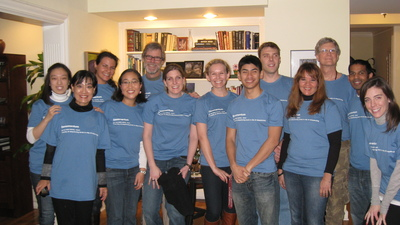 Nelson Lab Holiday Party T-Shirt Photo