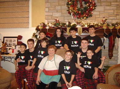 Christmas Eve 2010 T-Shirt Photo