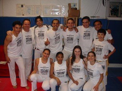 Students Of Capoeira Brasil Instrutor Tucano T-Shirt Photo