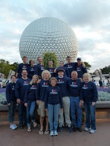 Disney Family Reunion 2010 T-Shirt Photo