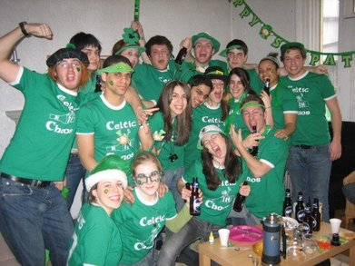 Celtic Chaos   Celebrating St. Patrick's Day In Style T-Shirt Photo