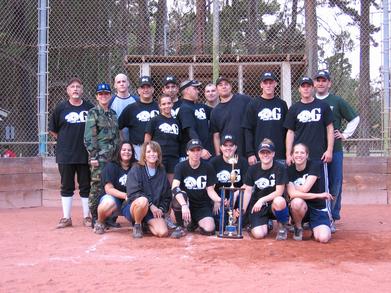 2006 Vandenberg Afb Coed Softball Champions! T-Shirt Photo