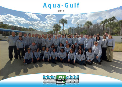The Aqua Gulf Team! T-Shirt Photo