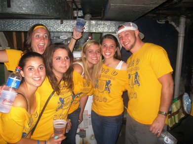 Widener Homecoming Party T-Shirt Photo