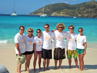 """Pirates Of Sandy Cay"" T-Shirt Photo"