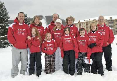 Annual Family Ski Trip T-Shirt Photo
