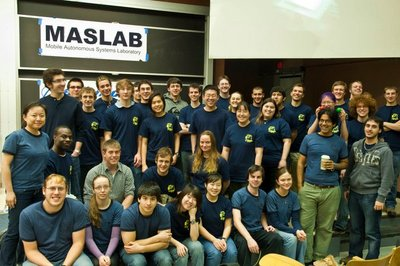 Maslab 2011 Final Competition T-Shirt Photo