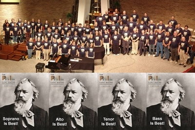 Fort Wayne Philharmonic Chorus T-Shirt Photo