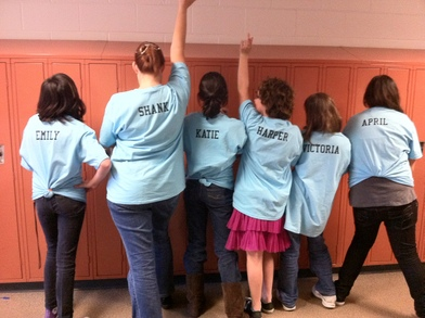 Our Destination Imagination Team T-Shirt Photo