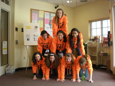 Sweet 16 Scavenger Hunt   The Orange Team T-Shirt Photo
