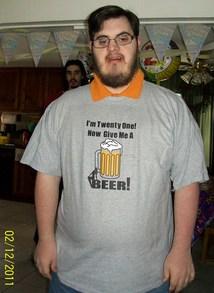 Happy 21st Birthday T-Shirt Photo