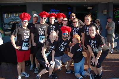 Run To Eat! T-Shirt Photo
