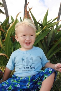 H Ave To R Ide! Surfer Boy T-Shirt Photo