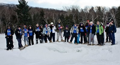 Mpsj's Sac @ Georgian Bay Snowshoeing Retreat T-Shirt Photo