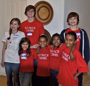 Halvorson Kids United For Orphans T-Shirt Photo