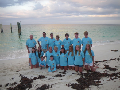 Roughing It In The Bahamas For Spring Break T-Shirt Photo