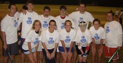 Pbl Softball Group T-Shirt Photo