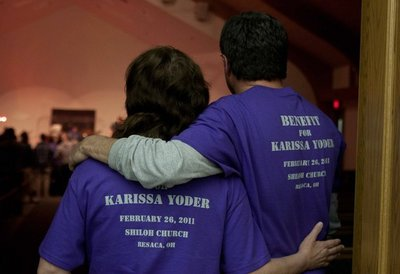 Karissa Yoder Benefit Concert T-Shirt Photo