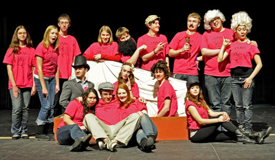 "Oregon Hs Cast/Crew Of ""Is He Dead?"" T-Shirt Photo"