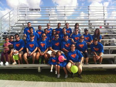 Ethan's Team T-Shirt Photo