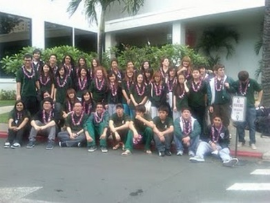 Fairmont Music Competes In Hawaii T-Shirt Photo
