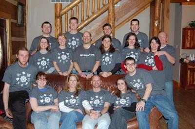 First Christian Church Couples Retreat T-Shirt Photo