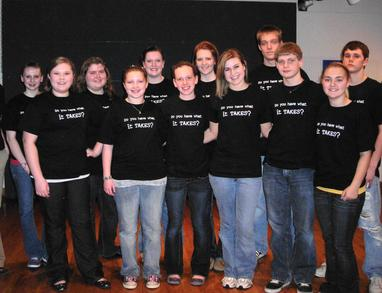 Speech Team   Do You Have What It Takes?? T-Shirt Photo