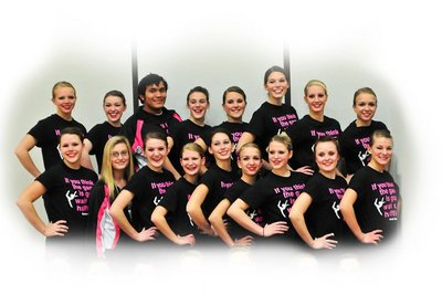 Central Dance Team 2011 T-Shirt Photo