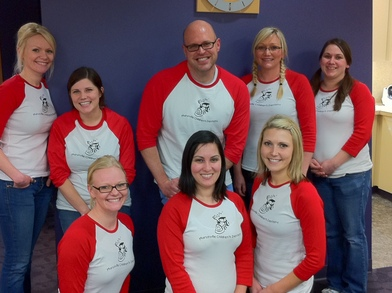Team Marysville Children's Dentistry! T-Shirt Photo