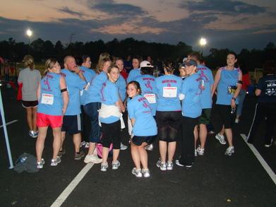 Nurses Running For A Reason T-Shirt Photo