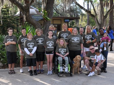 Skyler's Soldiers Mda Muscle Walk 2011 T-Shirt Photo