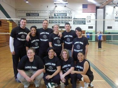 Laurel Park Fist Pumpers T-Shirt Photo