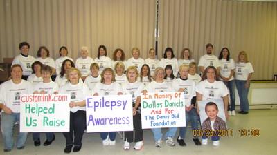 In Memory Of Dallas  Epilepsy Awareness T-Shirt Photo