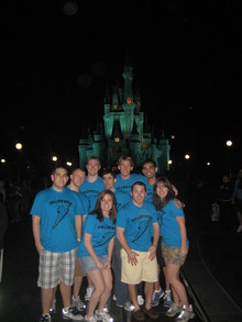 Spring Break '11 Bentley Ra Staff In Disney! T-Shirt Photo
