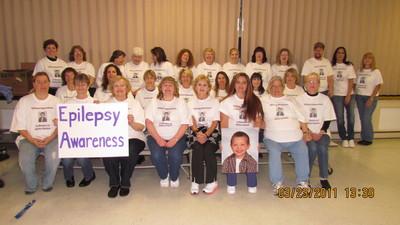 Epilepsy Awareness T-Shirt Photo
