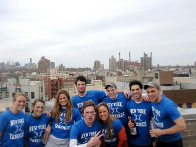 Pre Game On The Roof T-Shirt Photo