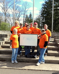 F Troop  Walk Ms 2011 Lenape Park, Pa T-Shirt Photo