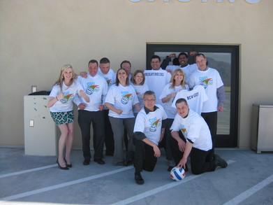 Casino Exec Volleyball Team! T-Shirt Photo