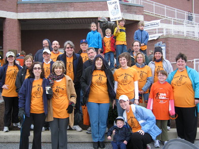 Team Hubcap   Ms Walk, Wilmington (De), 2011 T-Shirt Photo