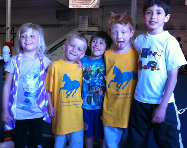 The Littlest Fans Of Our Rescue Horses! T-Shirt Photo