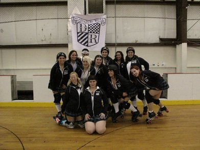 Roller Derby Season Opener Victory Pic T-Shirt Photo