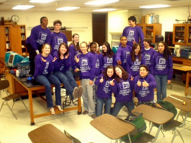 Our Chem Phys Noodies! T-Shirt Photo