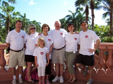 Donna And Ron 40th Anniversary Bahamas T-Shirt Photo