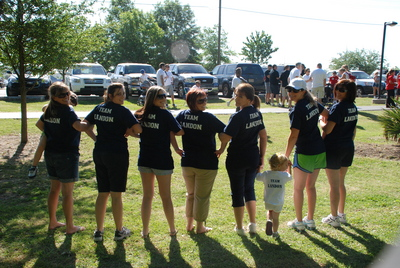 Autism Walk, Team Landon T-Shirt Photo