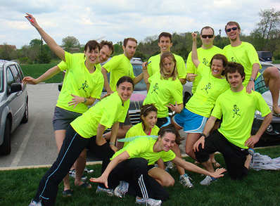 American Odyssey 200 Mile Relay Team T-Shirt Photo