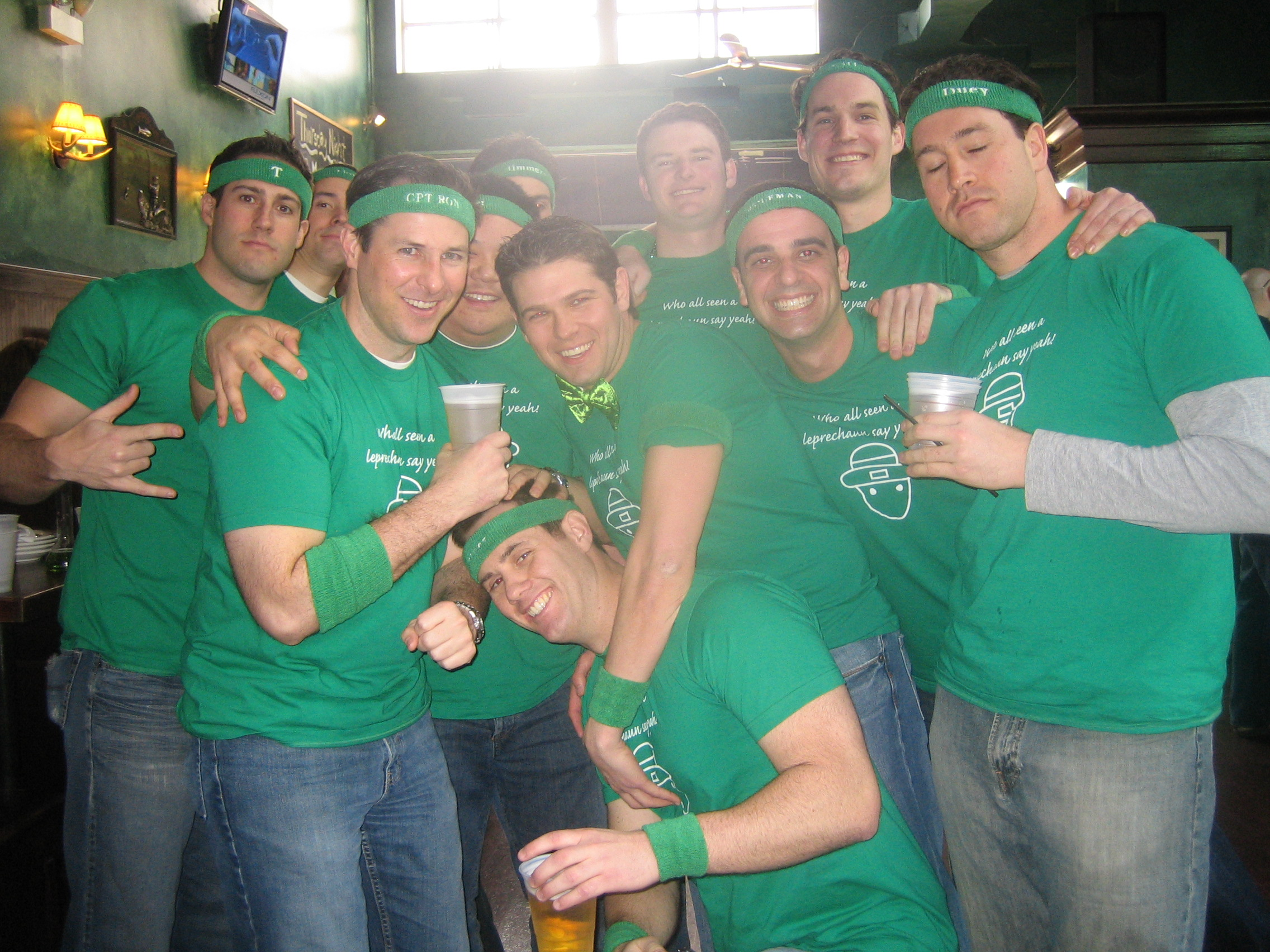 Design your own t shirt chicago - Who All Seen A Leprechaun Say Yeah T Shirt Photo